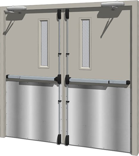 commercial steel hollow doors